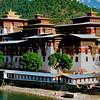 Punakha Dzong was built in 1640.