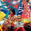 King Jigbe Wangchuck married Jetsun Pema at Punakha in October 2011 (AP).