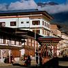 Bhutan's main street, Norzin Lam Road in Thimphu.
