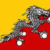 Bhutan's flag.