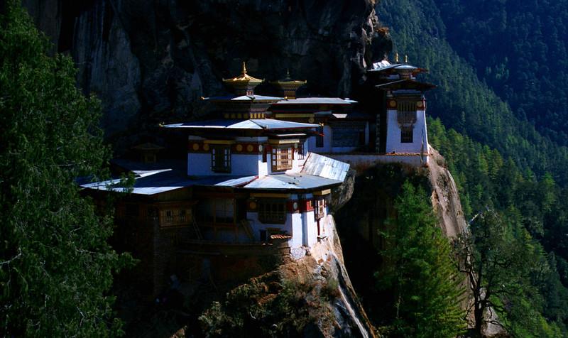 Bhutan's Tiger's Nest, or Taktshang Monastery.
