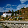 Bhutan's only airport is on the Paro Valley.