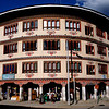 Norzin Lam Road in Thimphu, Bhutan's capitol.