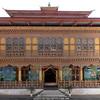 Temple, Punakha Dzong