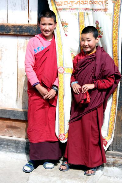 Young nuns at Kila