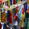 Prayer flags at Pele La