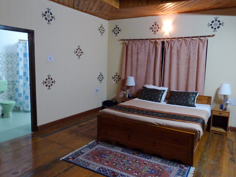 Another spacious room - Meri Puensum Resort, Punakha