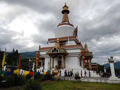 Built as a monument to the Third Druk Gyalpo and to World Peace.