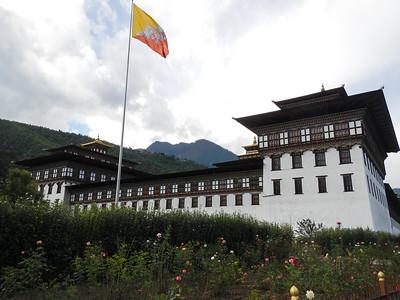 Tashichho Dzong.