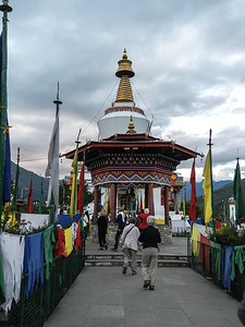 National Memorial Chorten - Thimphu, Bhutan.