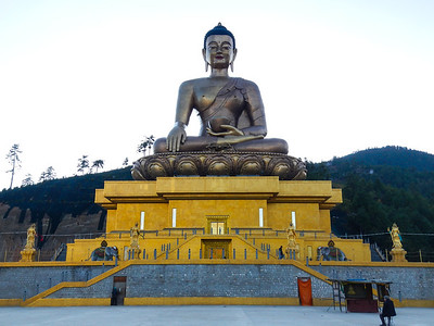 Buddha Dordenma Statue.