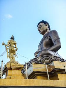 Bhuddha Dordenma Statue.