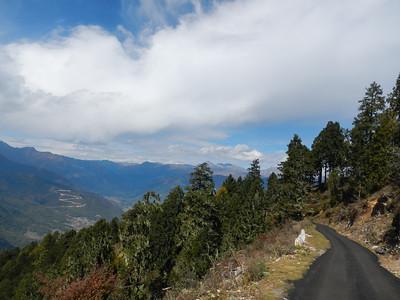 East West Highway, below the pass.