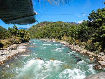 Bumthang River (Murchangphy Chhu).