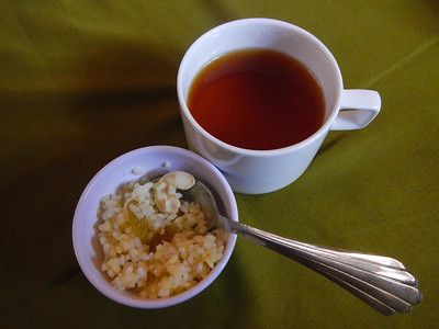 Tea and Rice mix.