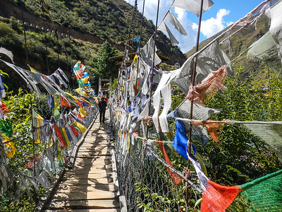 Tachogang Lhakhang. Paro, Bhutan.