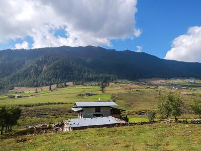 Phobjikha Valley.