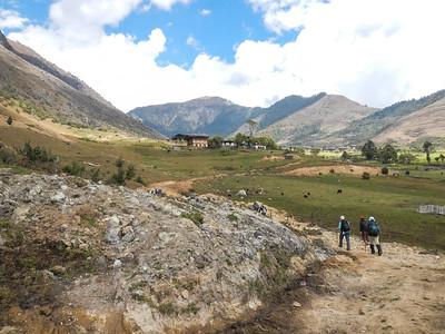 Phobjikha Valley, Bhutan.