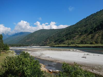 Along the Mo Chu River.