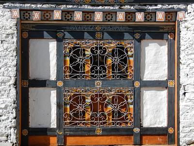 Decorative window cover.