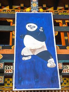 Blue Panda.