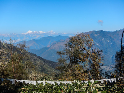 View of the Eastern Himalayan Mtn. Range.