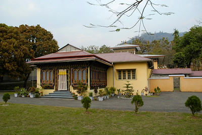 This house is supposed to be the King's house for stay in Samtse. Near National Institute Education (NIE), Samtse, Bhutan