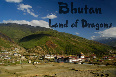 Thimphu is the capital of Bhutan which is a land locked country North of India and close to Nepal.