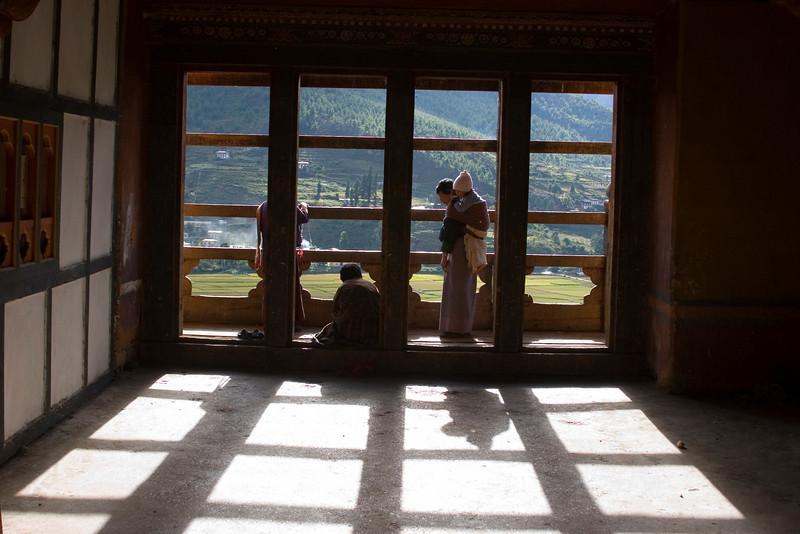 In Paro Dzong
