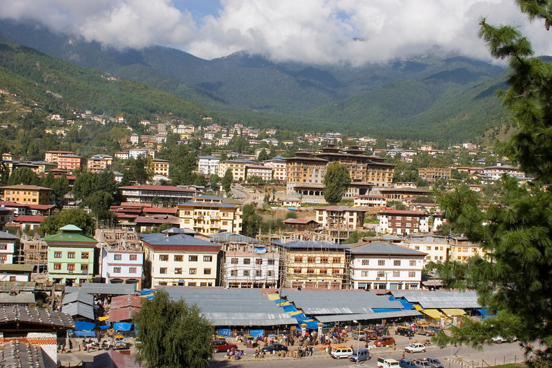 Thimpu, Capital of Bhutan