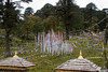 Dochu La Pass. Uniquely Bhutanese Prayer Flags.