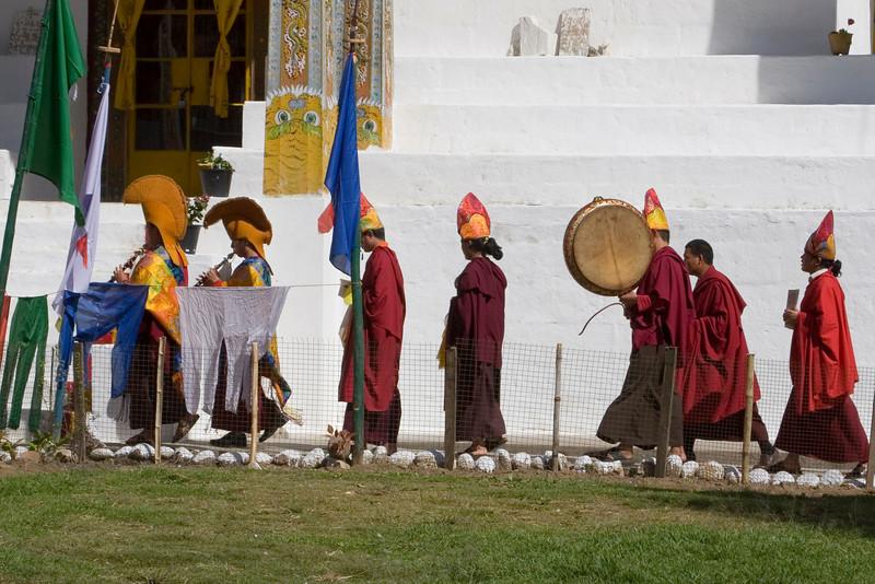 Yigja Ungkhar Lhakhang Ceremony. Thimpu