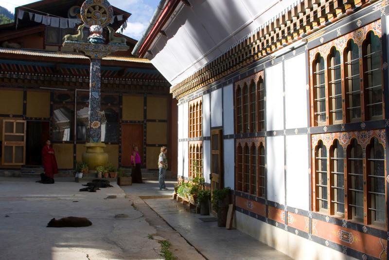 A Nunnery near Thimphu