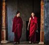 2018-02-17_Bhutan_JakarDzong_2-monksEntranceCloseUp-2358