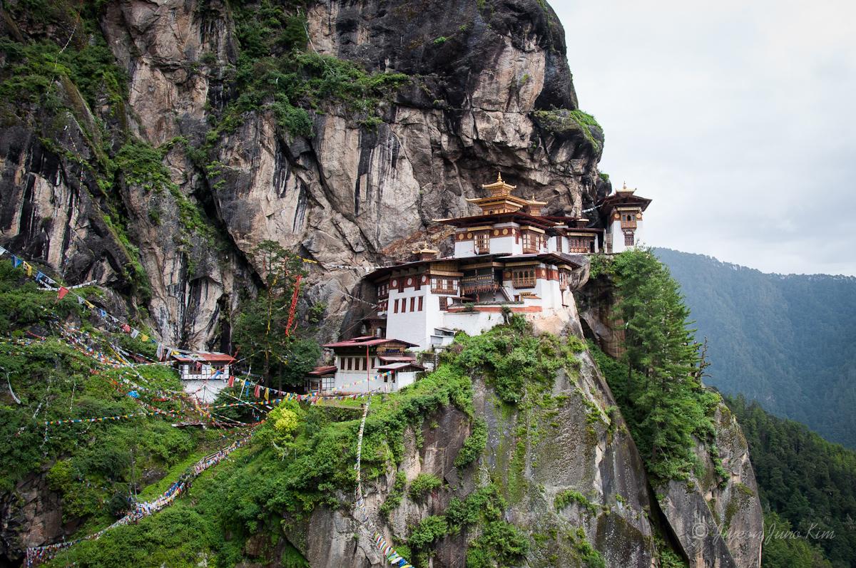 The Tiger's Nest Monastery (Paro Taktsang)
