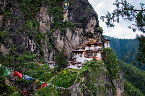 The Tiger's Nest Monastery (Paro Taktsang)