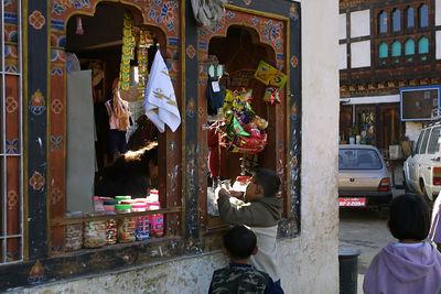 shop in Paro