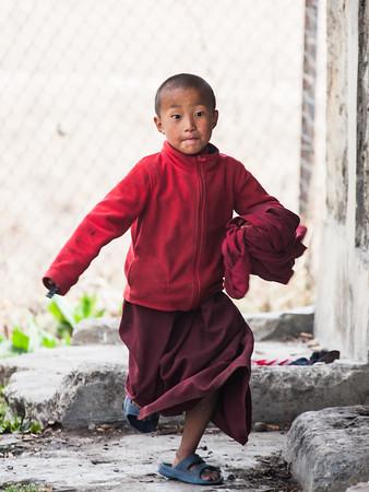 Monk at Play