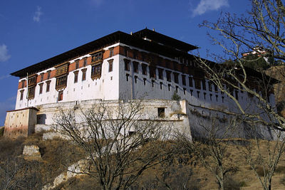 Dzong architecture is a distinctive type of fortress architecture found in the former and present Buddhist kingdoms of the Himalayas, most notably Bhutan. here's a shot of a Monestary