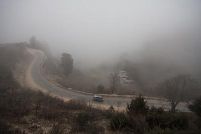 Foggy Dochula Pass