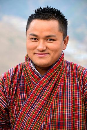 Rinzin Dorji - our sweet, affable guide