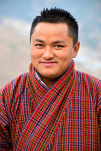 Rinzin Dorji - our sweet, affable guide