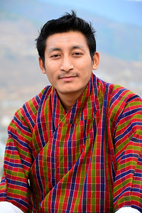 Namgay Wangchuck - our steady, careful driver