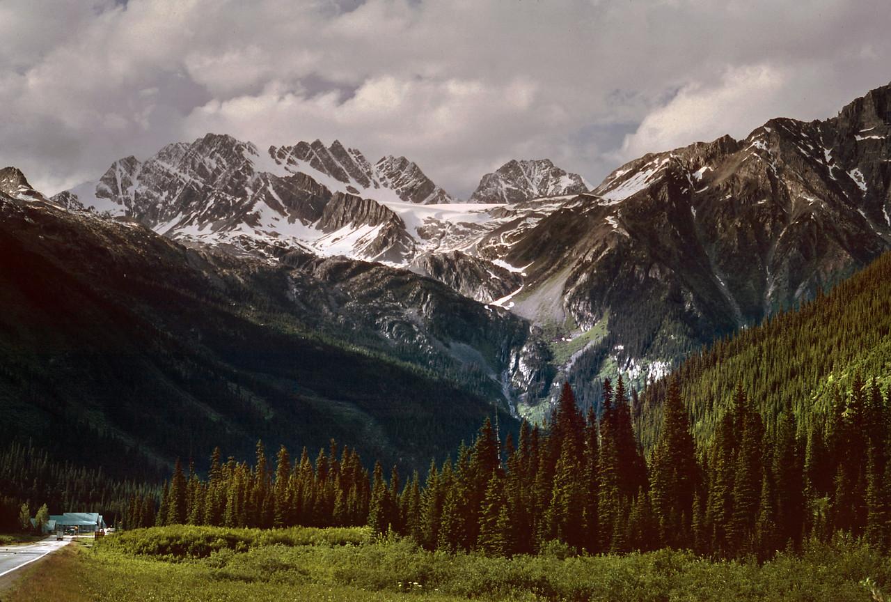 Canadian Rockies.