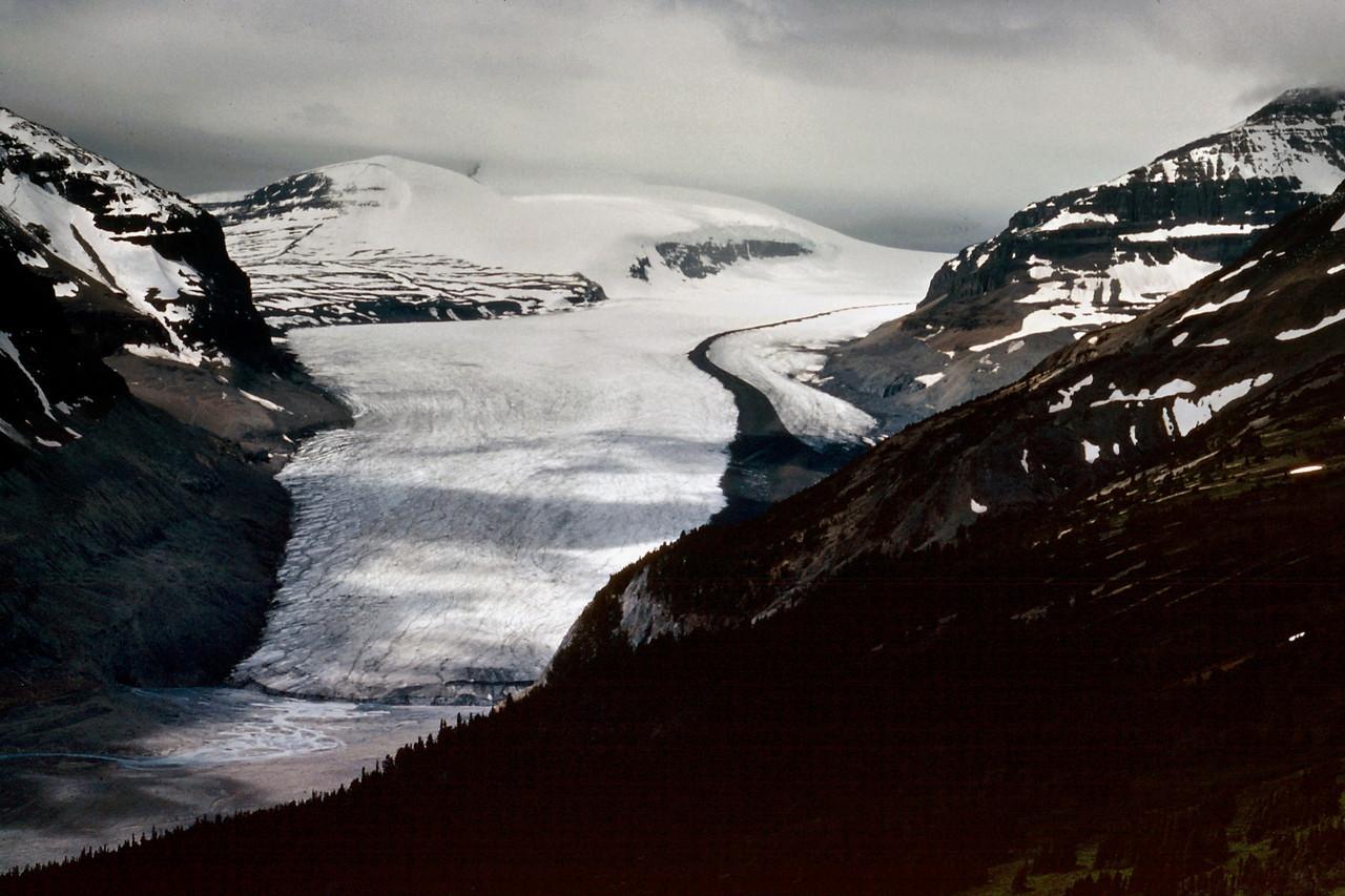 Glacier, Canadian Rockies. Summer 1977.