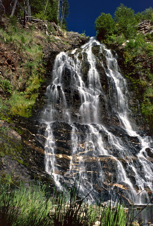 Ione Falls, north of Nakusp, British Columbia.