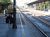 Waiting for the train in San Dona di Piave