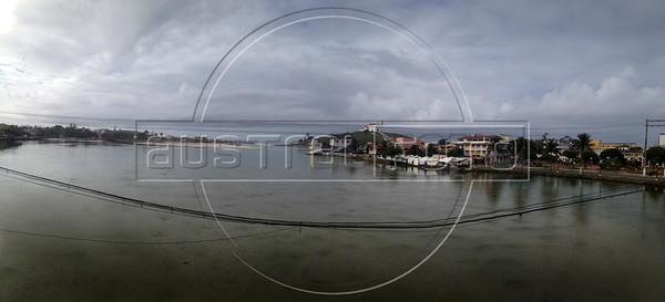 A view of Saquarema, Rio de Janeiro state, Brazil during a bicycle trip to Rio das Ostras.  (Australfoto/Douglas Engle)