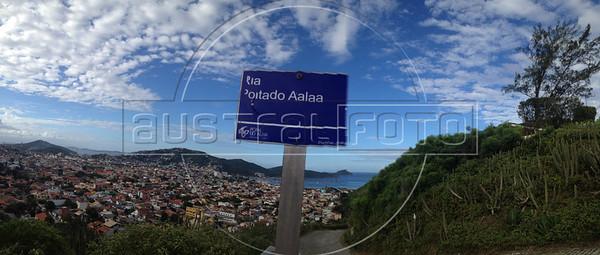 Partial view of Arraial do Cabo, Rio de Janeiro state. (Australfoto/Douglas Engle)