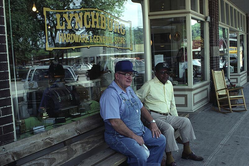 Jack Daniels Workers on A Lunch Break